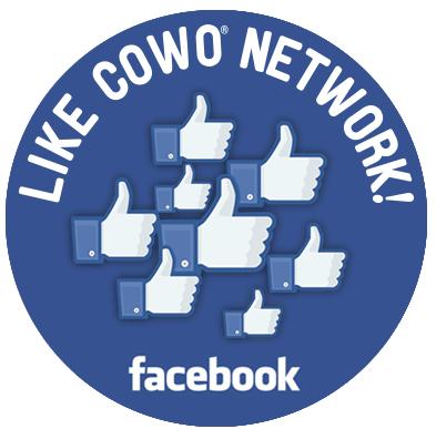 La pagina Facebook del Network Cowo